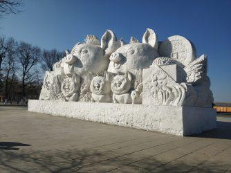 哈尔滨-雪雕